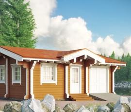 Проект дома Тещин дом