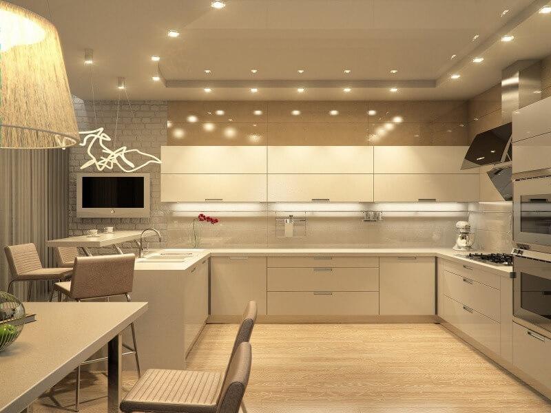 Дизайн современной кухни: фотогалерея лучших интерьеров