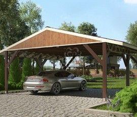 Проект дома навеса «Мартиника-2»
