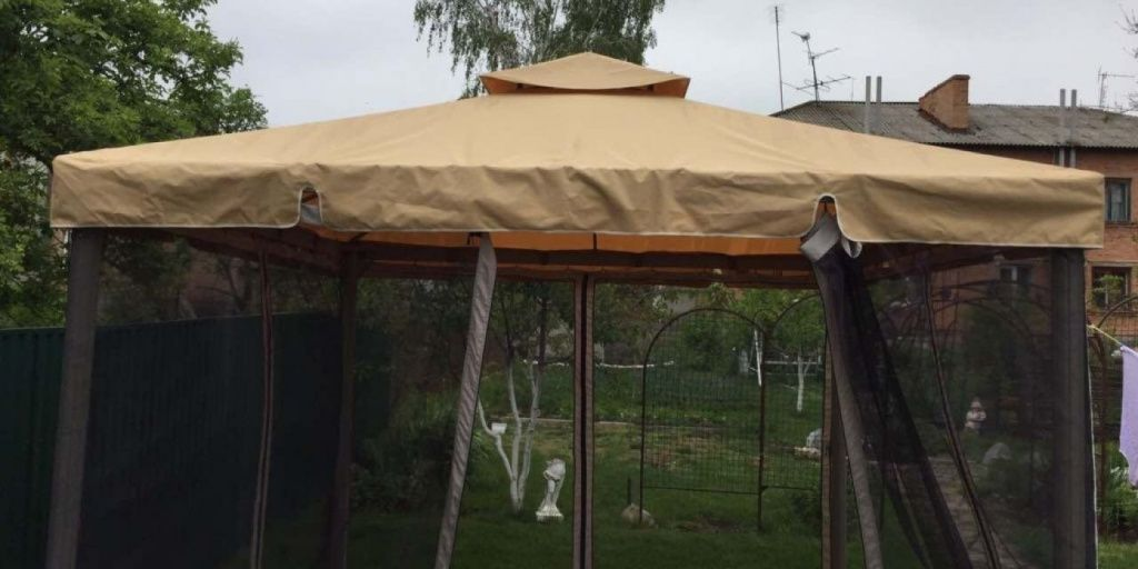 Купить ткань для шатров и беседок бисер toho demi round 11 0