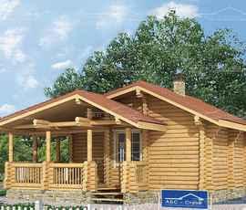 проект дома Афоня-Баня