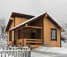 Проект дома Бани Алексин