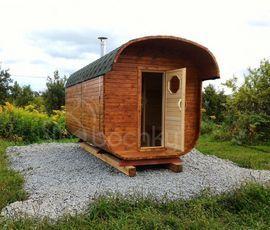 Проект дома бани-квадробочки «Супер-Люкс»