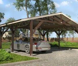 Проект дома навеса «Мартиника-1»