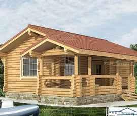Проект дома Бани Ласковая
