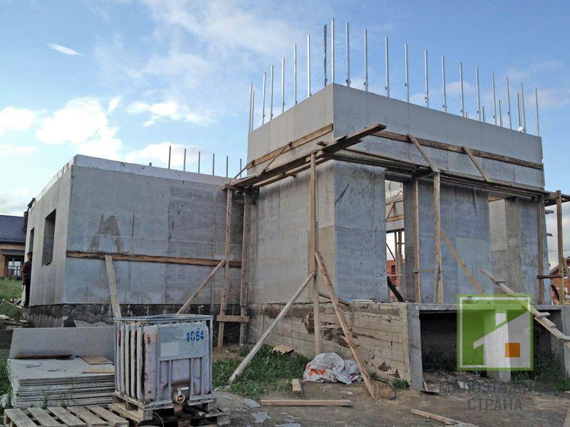 Частный дом из монолитного керамзитобетона бетон город волжский купить
