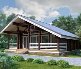 Проект дома Бани Юрмала