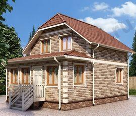 Проект дома Ахтуба-Б