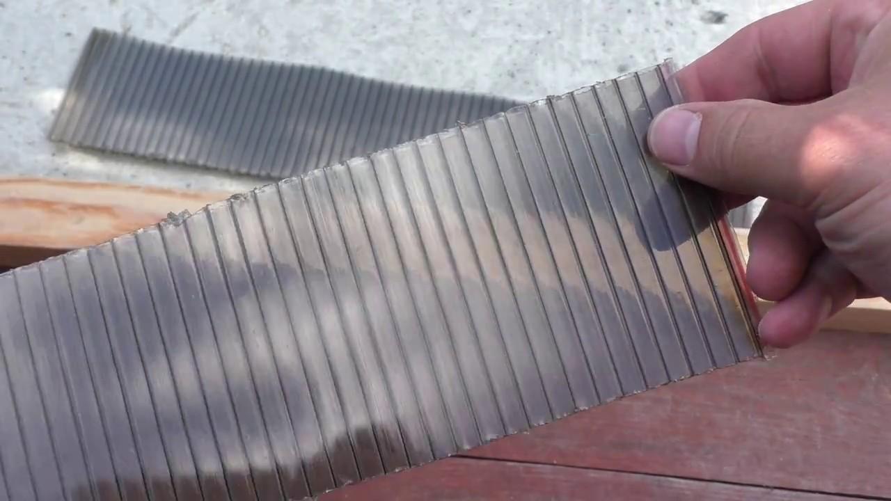 Как и чем лучше резать поликарбонат в домашних условиях
