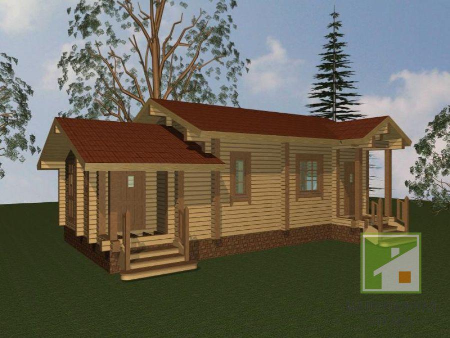 Баня с хозблоком под одной крышей: особенности и примеры проектов