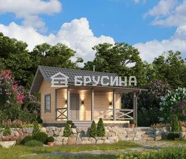 Проект дома Бани «Костромская»