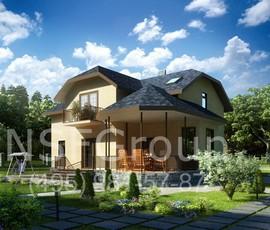 Проект дома ДОК-289 / Кан