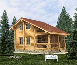 Проект дома Бани Лямура