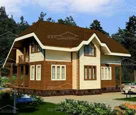 Проект дома Опалево-М4