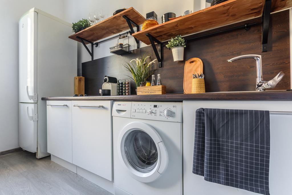 Где лучше расположить стиральную машину на кухне с холодильником