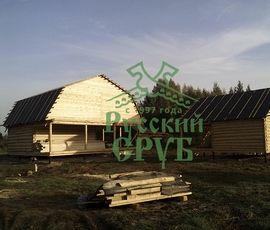 Проект Сруба дома 6х6 м