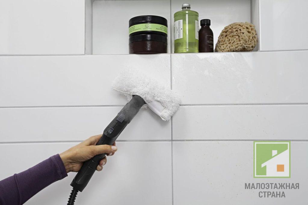 Особенности ухода за плиткой в ванной: чем и как отмыть загрязнения