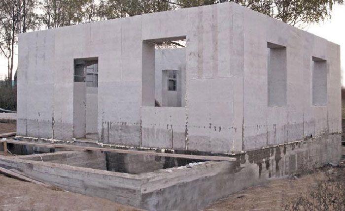 Технология строительства монолитного дома