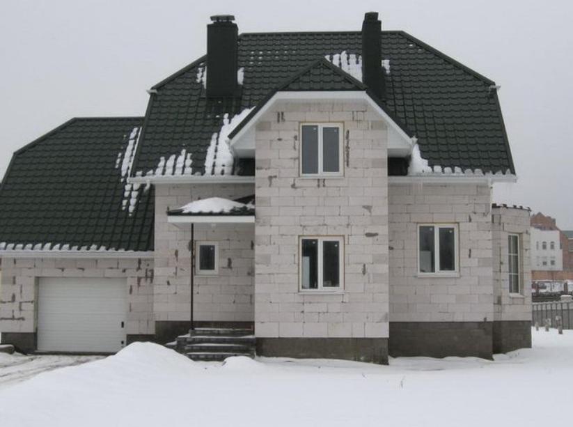 как самому построить дом из газосиликатных блоков