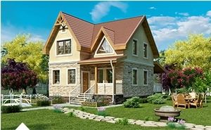 проекты канадских домов и коттеджей
