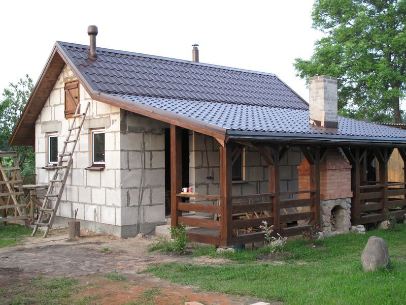 баня с террасой под одной крышей проекты