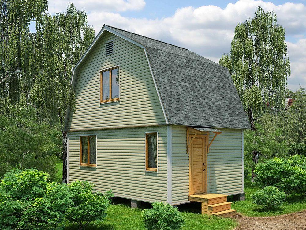 Простые дачные дома проекты фото