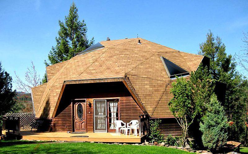 купольный дом проекты