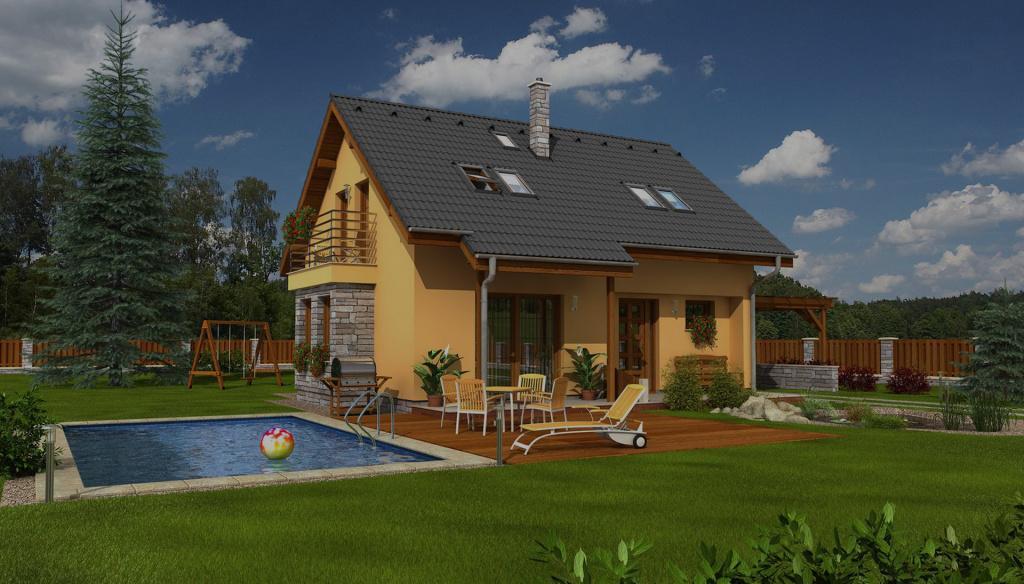 Небольшой дом 120 кв.м