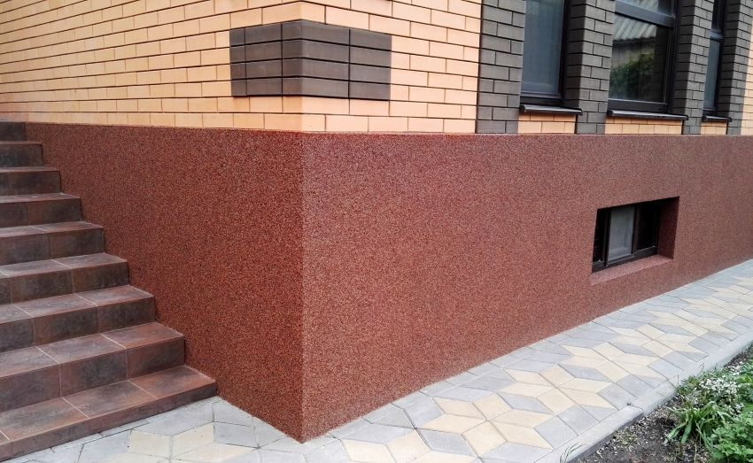 краска для фундамента по бетону