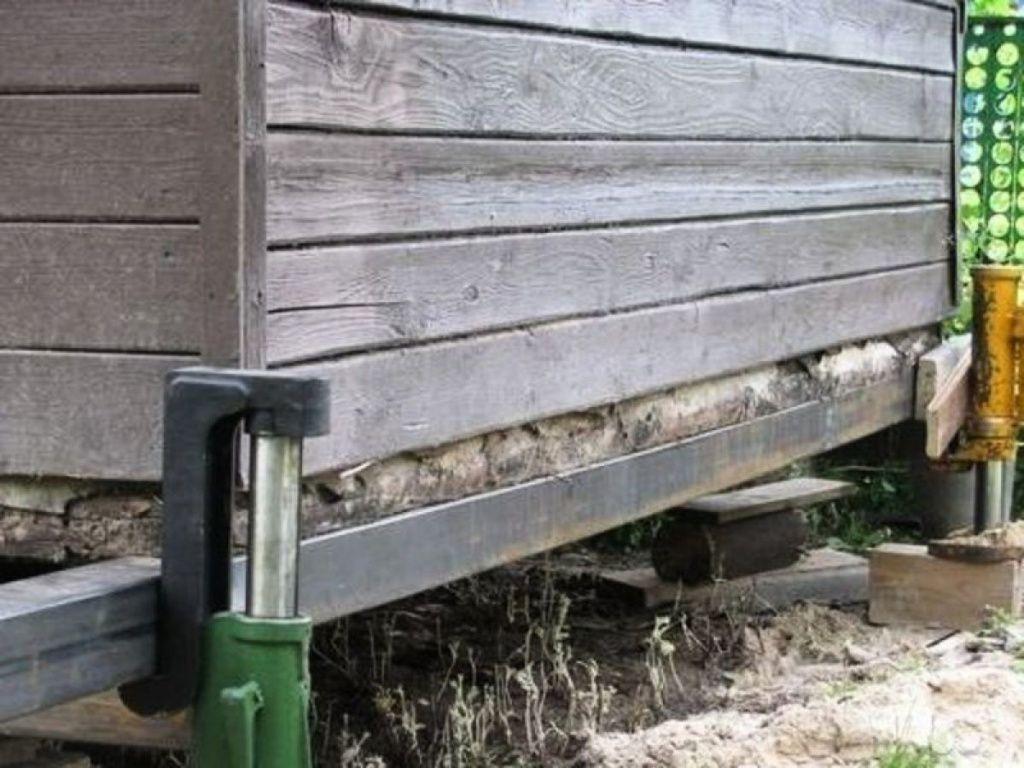 замена венцов и ремонт фундамента деревянного дома стоимость