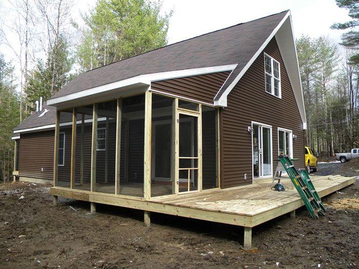 Строительство модульного дома.