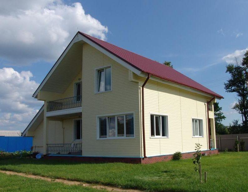 проекты домов из металлокаркаса