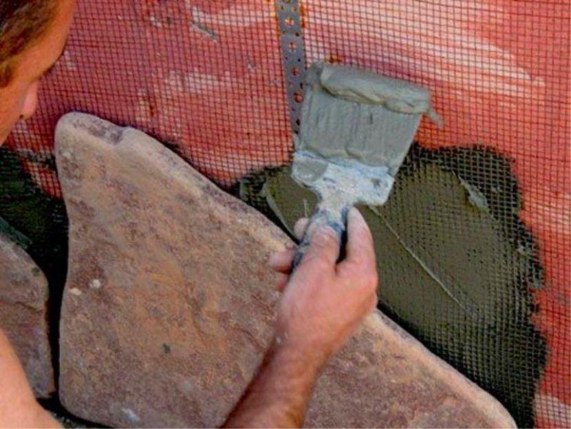 камень для отделки фасада дома
