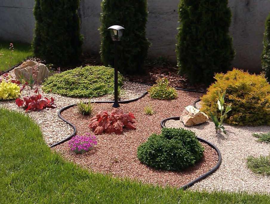 пластиковый бордюр для садовых дорожек