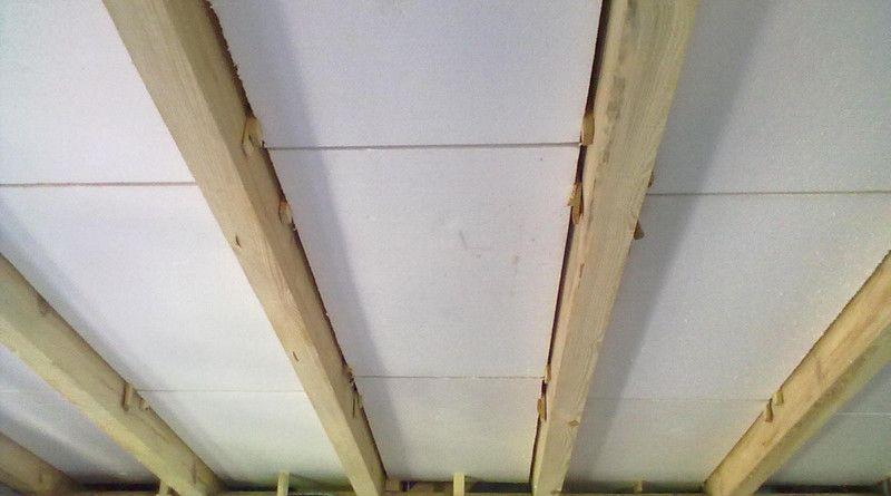 как утеплить пол в деревянном доме снизу