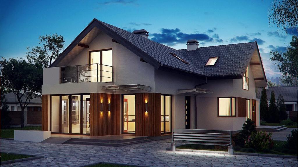 Одноэтажный коттедж