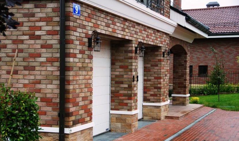 облицовка фасада дома кирпичом цена работы