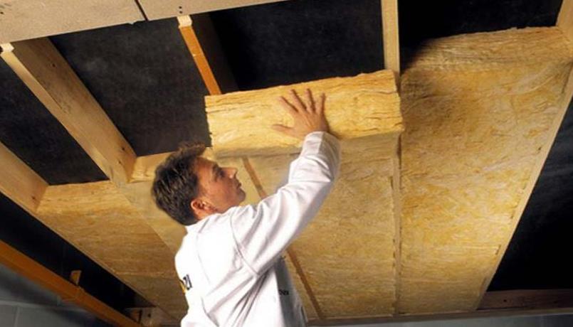 утепление готового пола в деревянном доме снизу