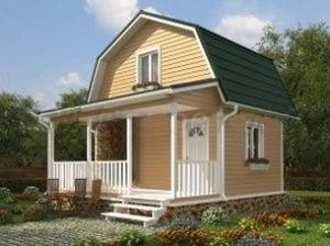 канадские деревянные дома