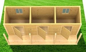 деревянные бытовки для дачи с верандой