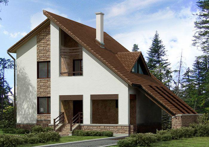 Каркасно щитовые дома под ключ недорого