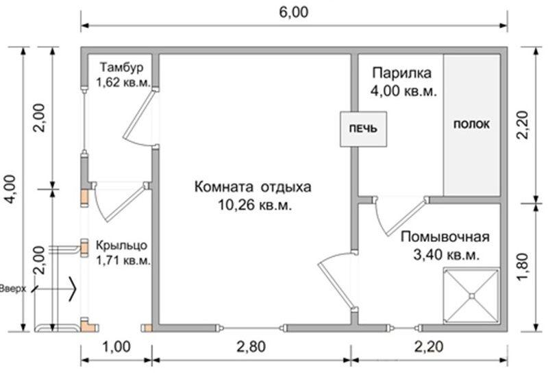 Типовая планировка бани с тамбуром.jpg