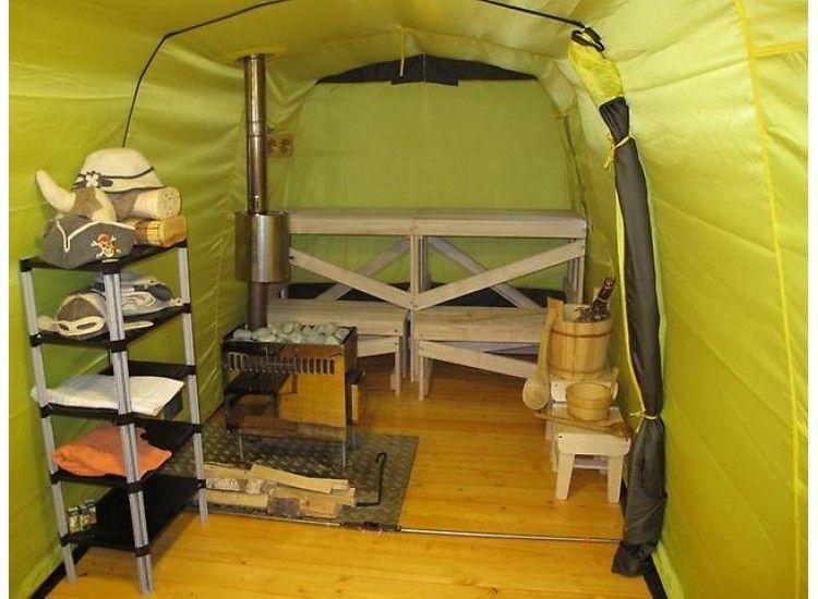 Мобильная баня-палатка
