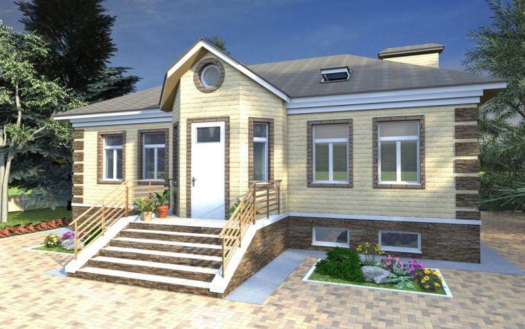 дома с цокольным этажом под ключ проекты и цены