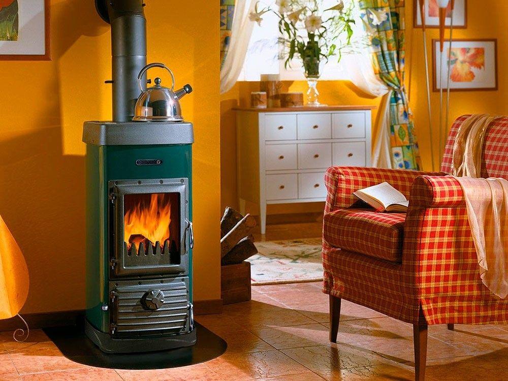 Экономичный дровяной котел для отопления частного дома