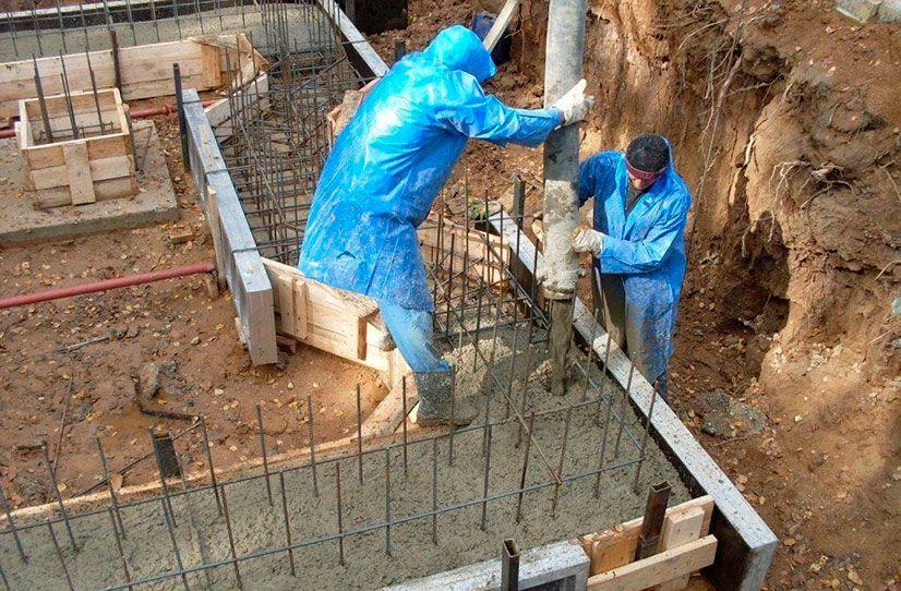 стоимость работ по бетону
