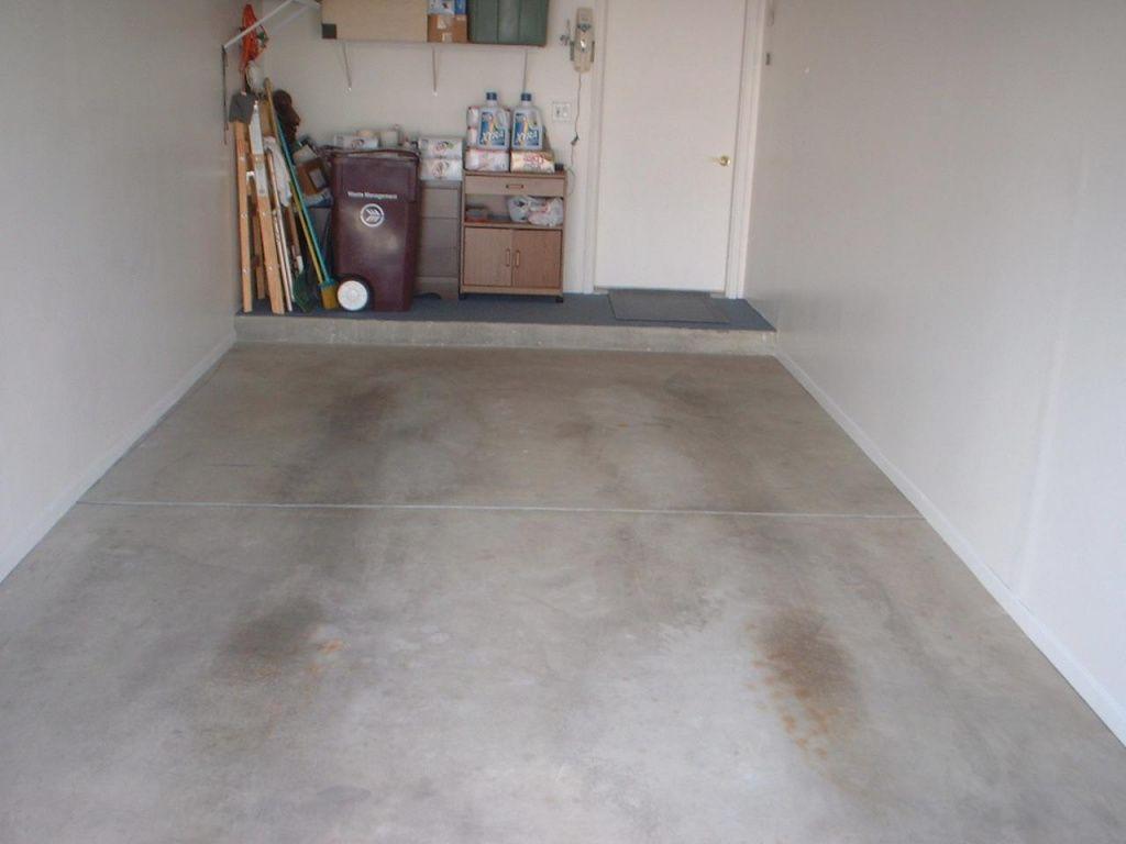 как сделать гладкий бетонный пол в гараже