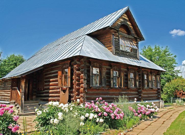 дизайн старого деревенского дома с печкой недорого