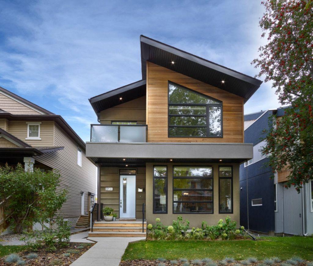 небольшой дом с односкатной крышей проекты