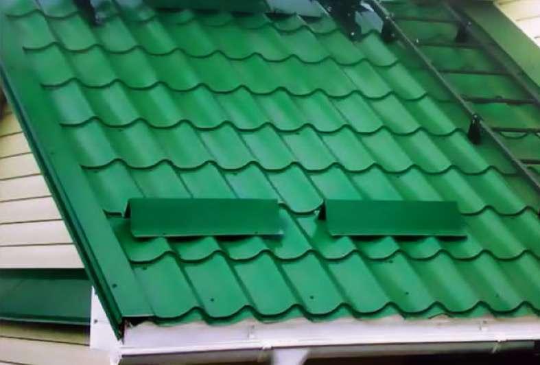 снегозадержатели на крышу установка цена